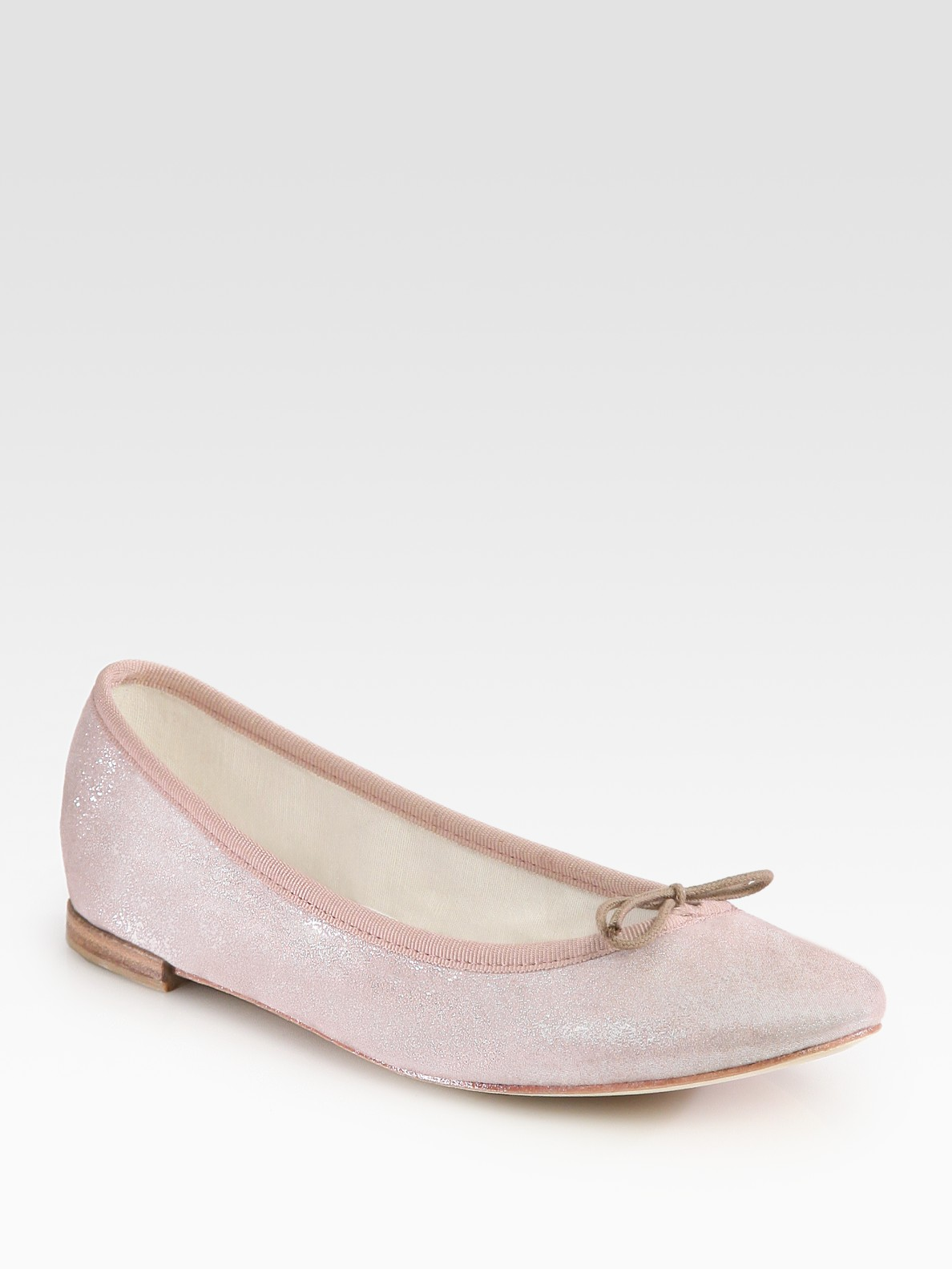 sale order Repetto Metallic Suede Flats browse cheap price Cheapest cheap online brand new unisex cheap price I7o2Vls
