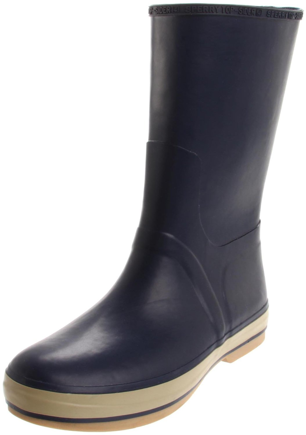 Sperry Top-sider Mens Rubber Rain Boot in Blue for Men