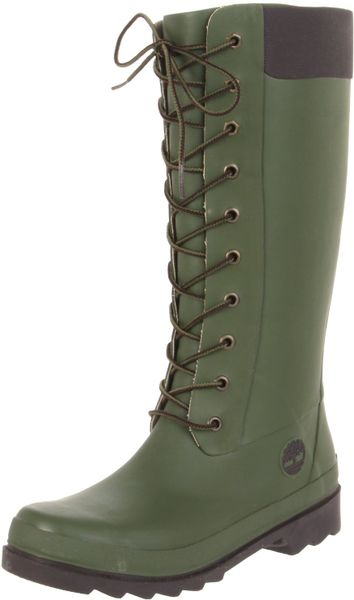 Timberland Womens Welfleet Rain Boot In Green Lyst