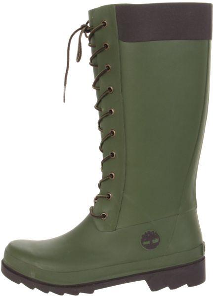 Beautiful Woman Timberland Rain Boots | EBay