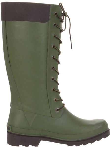 Popular Green Rain Boots Women - Yu Boots