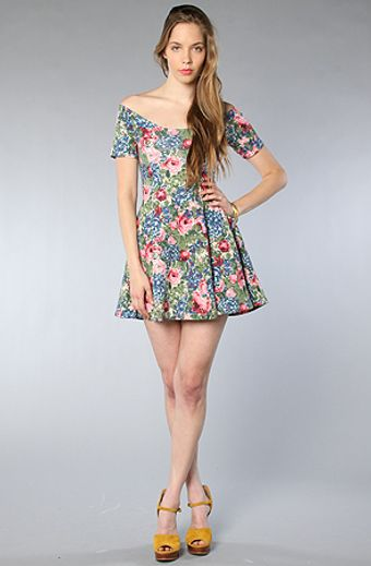 RVCA The Now Or Never Dress in Floral Multi - Lyst