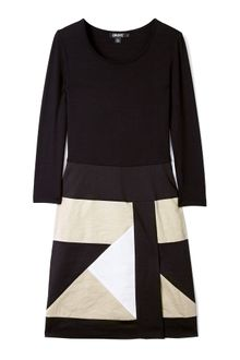 DKNY Geometric Panels System Dress - Lyst