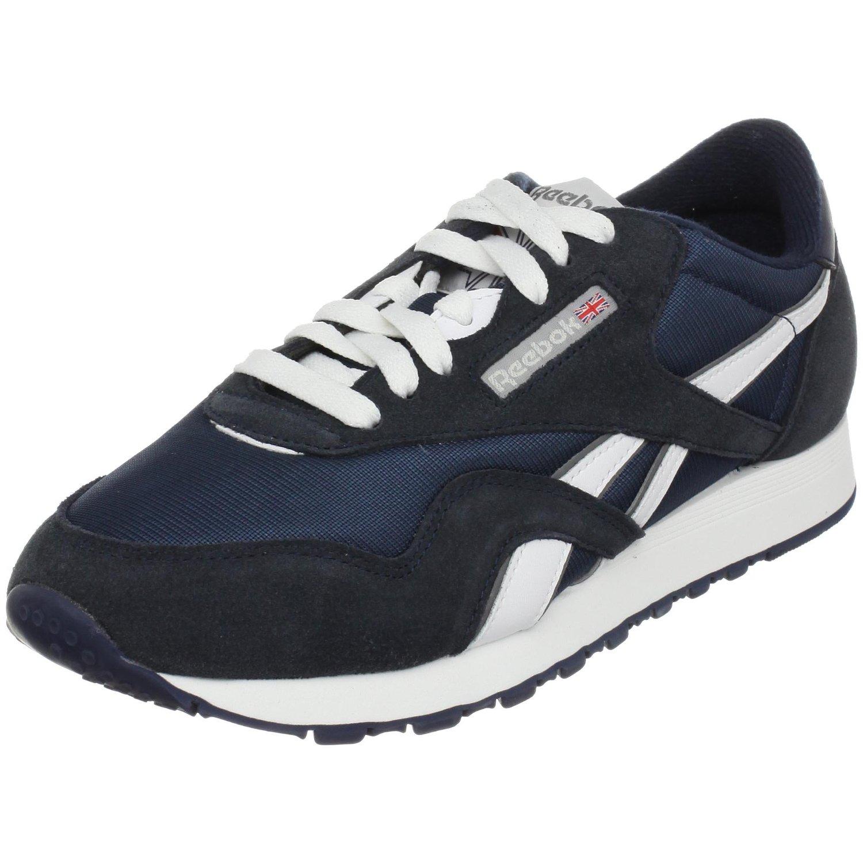 Reebok Womens Classic Nylon Sneaker in Blue (team navy ...