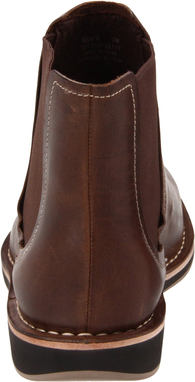 cole haan air canton chelsea boot in brown for