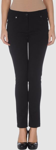 Roberta Scarpa Casual Trouser in Black - Lyst