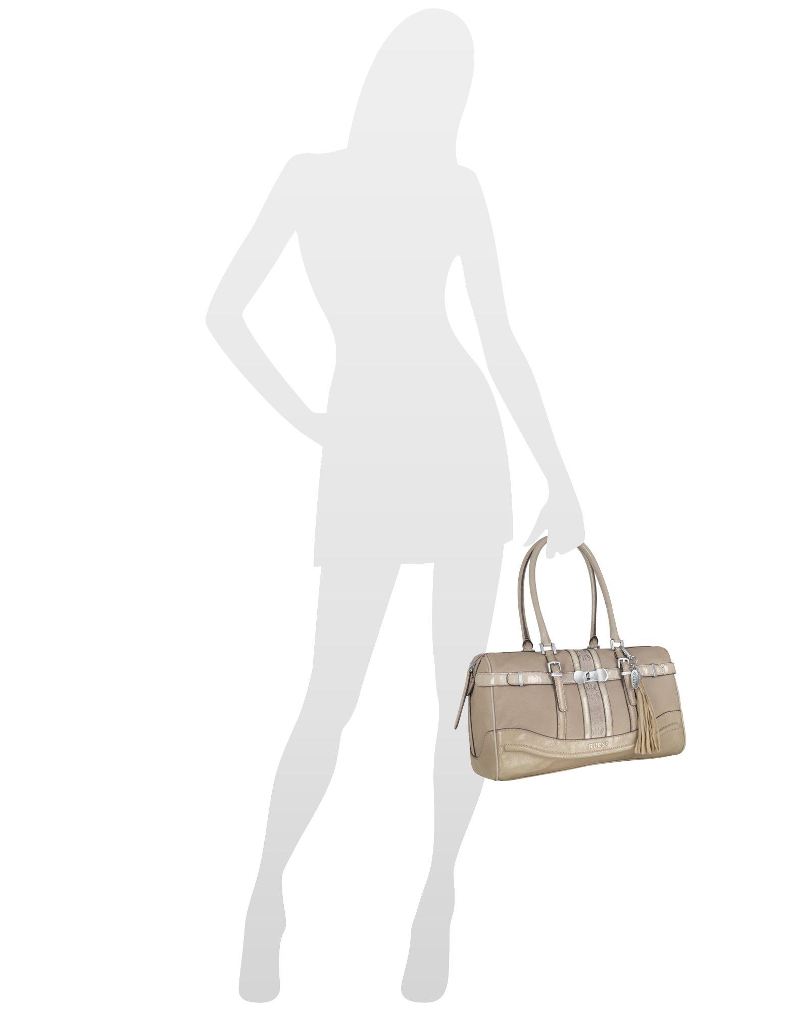 Lyst - Guess Scent City - Box Satchel Bag in Natural e045dac1296e7