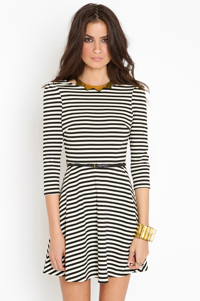 Lyst - Nasty Gal Jailbait Dress In Black-8841