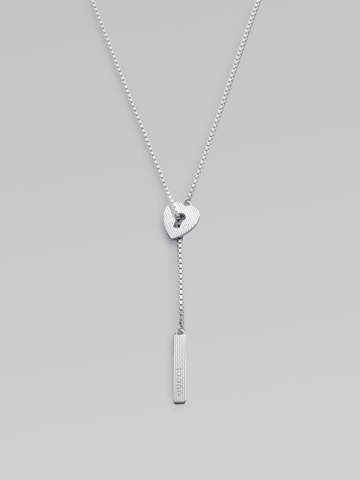 Love Pendant Necklace Gold