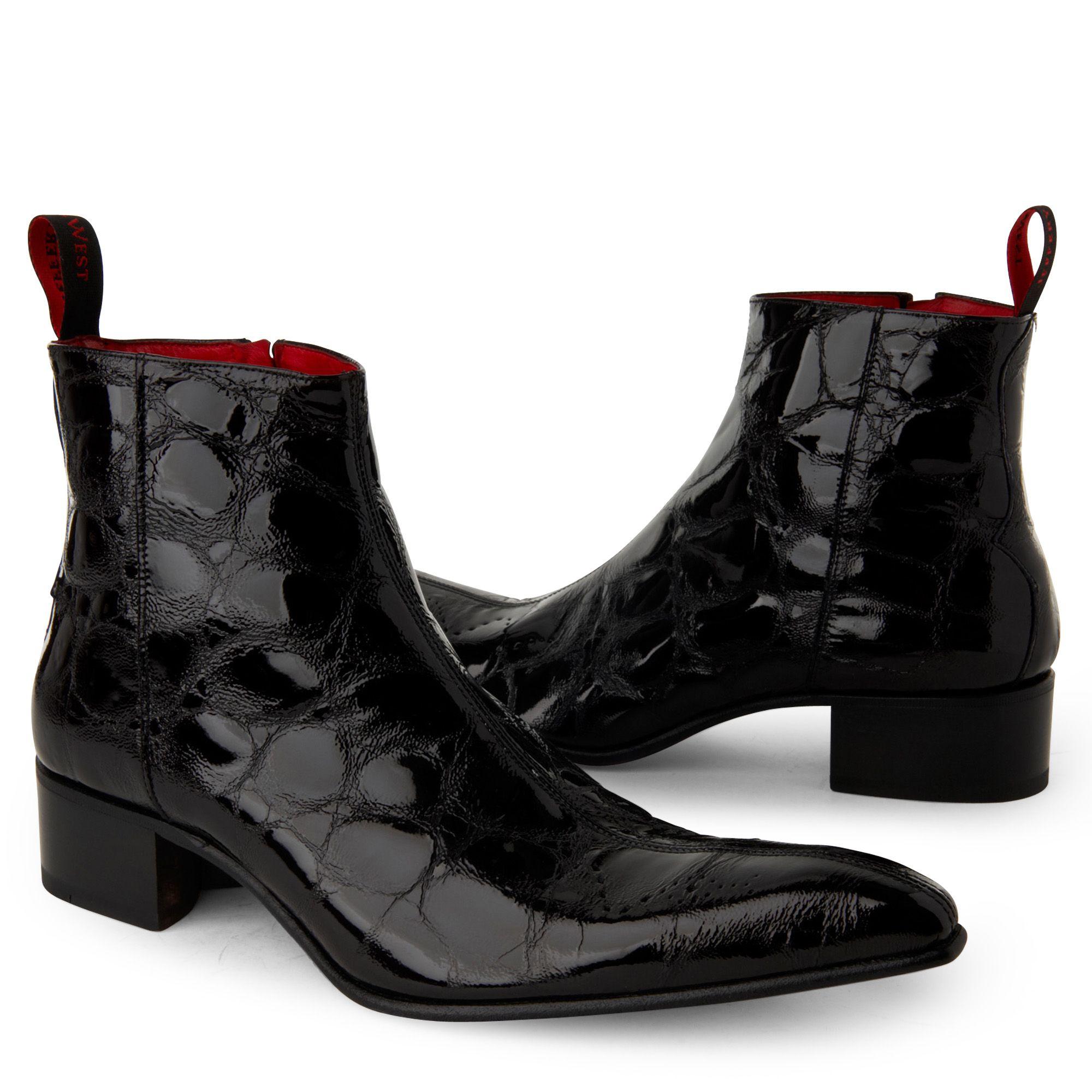 Jeffery West Black Shoes
