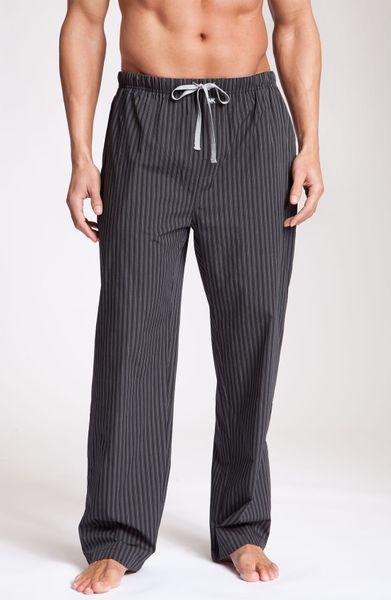 Michael Kors Pajama Pants In Black For Men Carbon Lyst