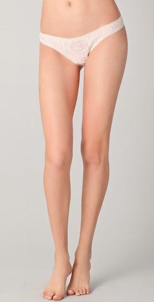 Stella Mccartney Birthday Knicker Bikini Briefs in Pink - Lyst
