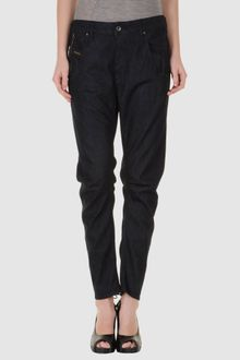 Diesel Black Gold Denim Trousers - Lyst