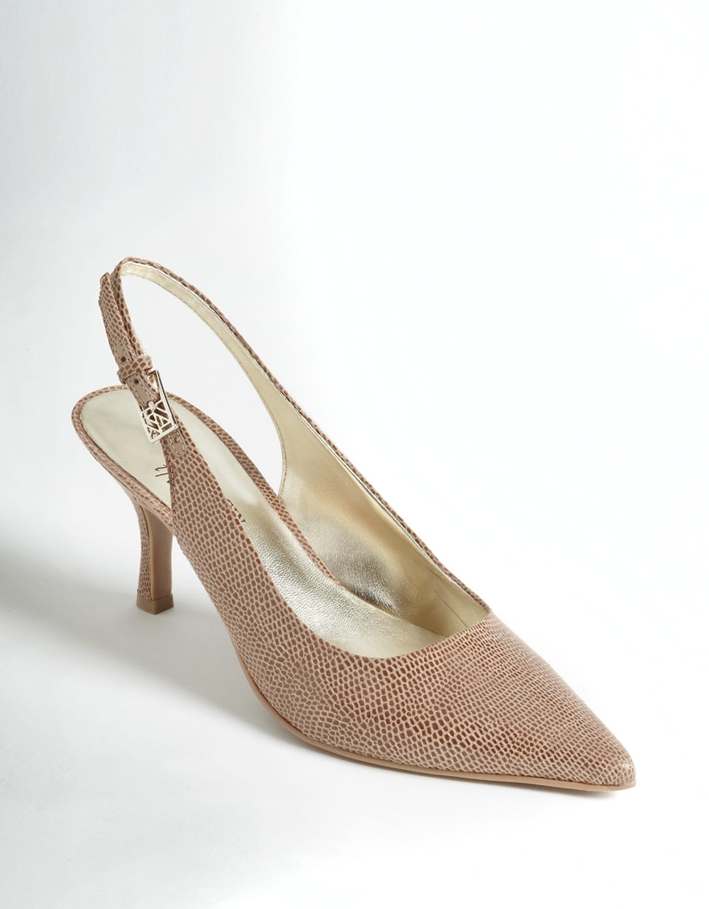 Ak Anne Klein Harquin Slingback Pumps in Brown (taupe ...
