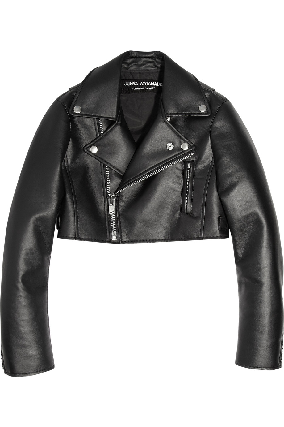 Go all hell for leather! Our faux leather jackets are a knockout wardrobe piece no fashion baller should be without. From rock chick biker styles for kickin' it on the streets or shakin' it at a gig, to slick and sleek tailored blazers savvy enough to take you from work to the bar and on to the club.
