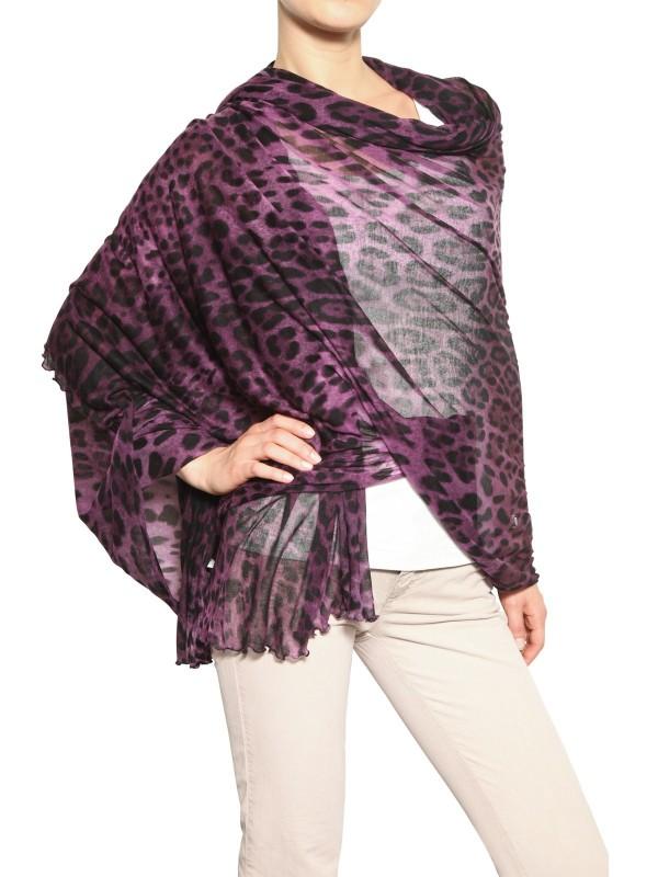 64e3edef6d ... ireland lyst dolce gabbana leopard print stretch modal scarf 8f845 68690