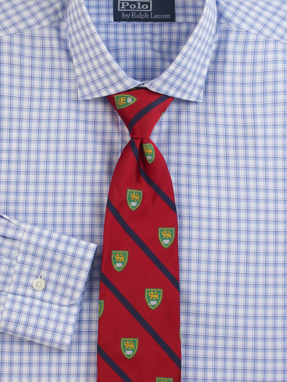 013f2bfcba4d Polo Ralph Lauren Printed Silk Tie in Red for Men - Lyst