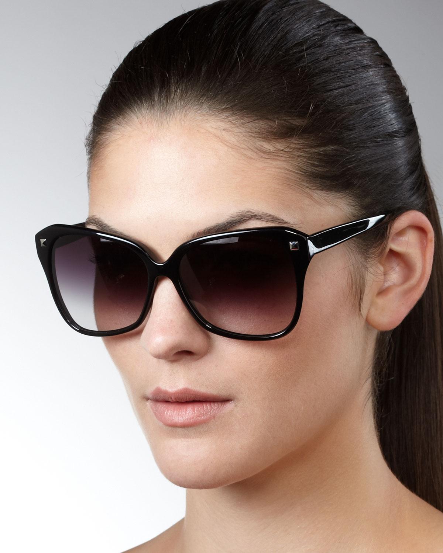 915dce4a58 Lyst - Barton Perreira Faithful Squared Cat-eye Sunglasses