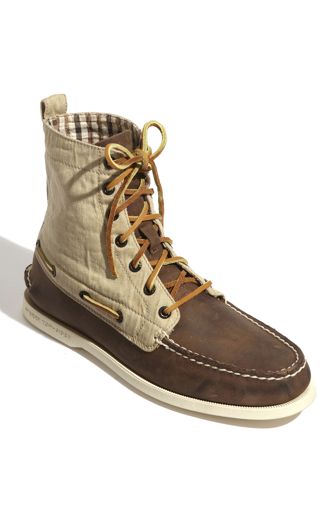 Sperry Top-sider Authentic Original 7-eye Lace-up in Brown ...