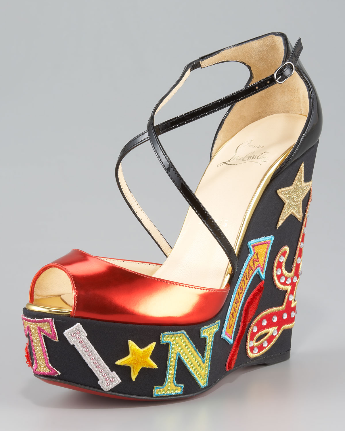 sale best prices cheap sale real Christian Louboutin Christian Louboutin Loubi Zeppa Wedges mj8dEi