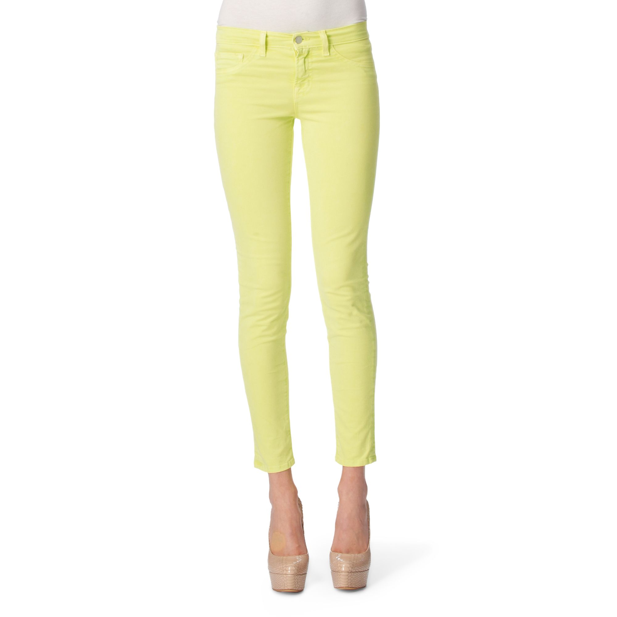 Mens neon yellow skinny jeans – Global fashion jeans collection
