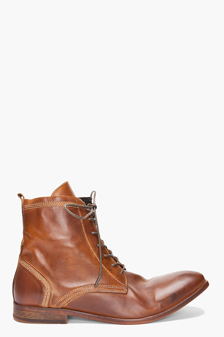 h by hudson strathmore boots in brown for lyst