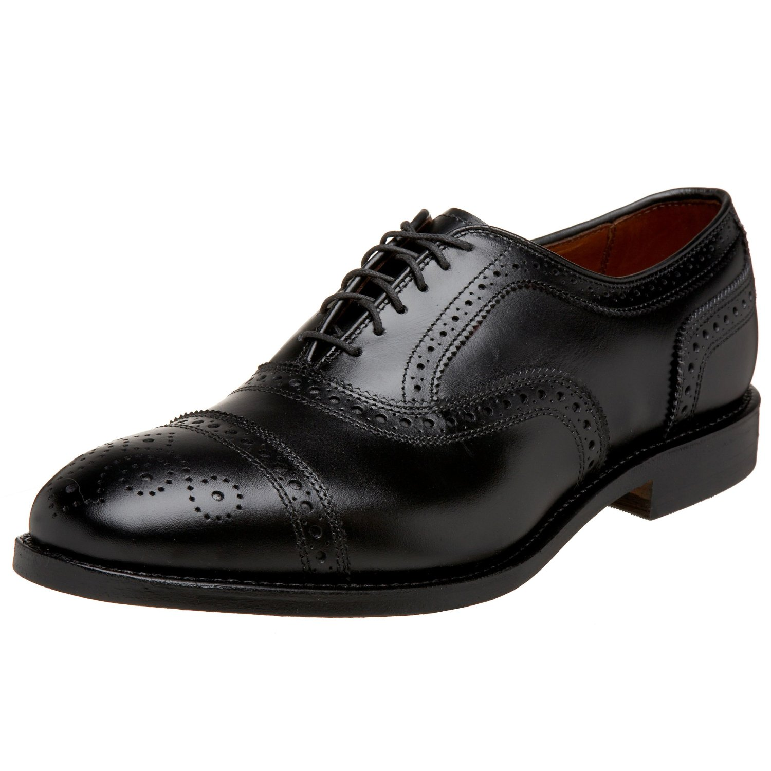Mens Perforated Cap Toe Shoes