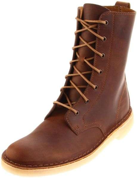 Unique  Best Selling Clarks Women Leather Boots Boot Beeswax Desert  8137