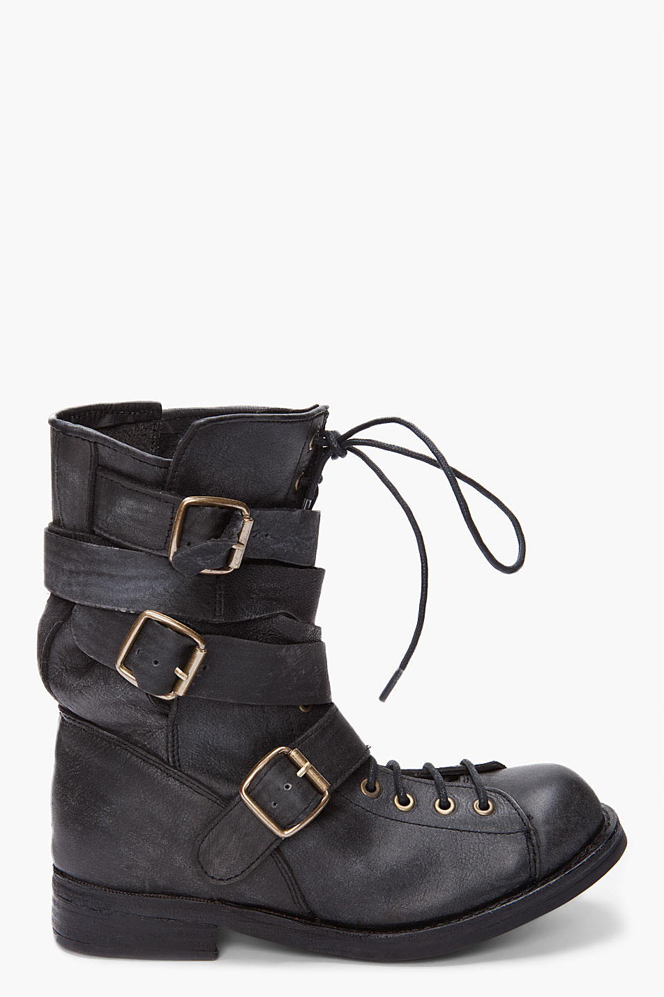 Jeffrey Campbell Black Fall Man Boots For Men Lyst