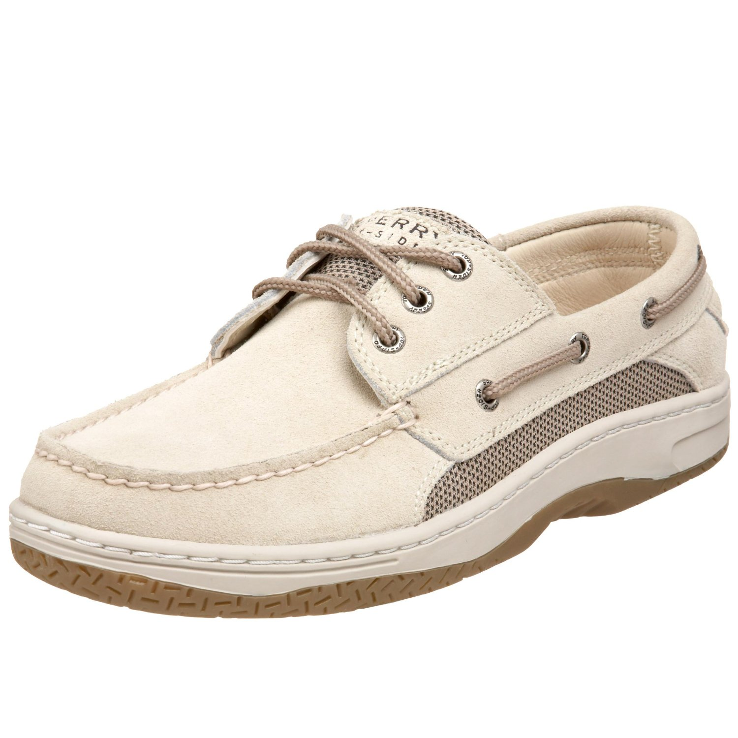 White Sperry Top Sider Boat Shoes