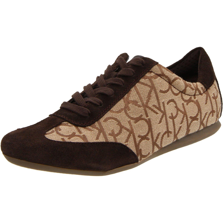 calvin klein mens louie jacquard suede sneaker in brown. Black Bedroom Furniture Sets. Home Design Ideas