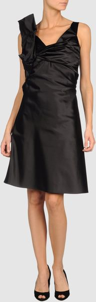 Dsquared2 Dsquared2  Short Dresses in Black - Lyst