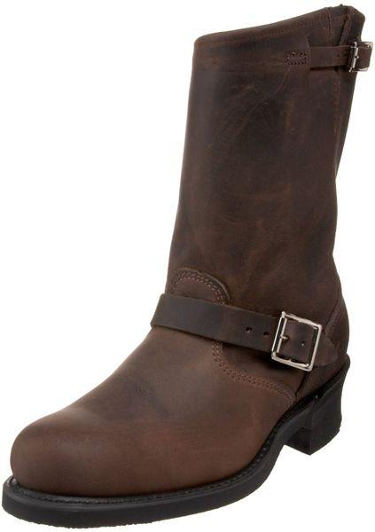 frye mens engineer 12r boot in brown for gaucho lyst