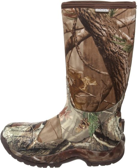 Bogs mens blaze mt boot in brown for men realtree ap lyst for Bogs classic mid le jardin