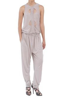 Amen Jersey Jumpsuit with Embroidery - Lyst