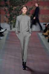 Tommy Hilfiger Fall 2012 Gingham Straight-Cut Pants