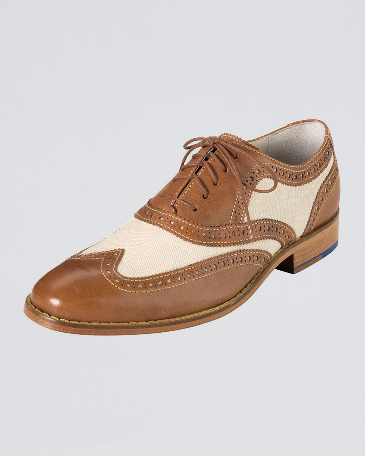 Lyst Cole Haan Air Colton Spectator Shoe In Brown For Men