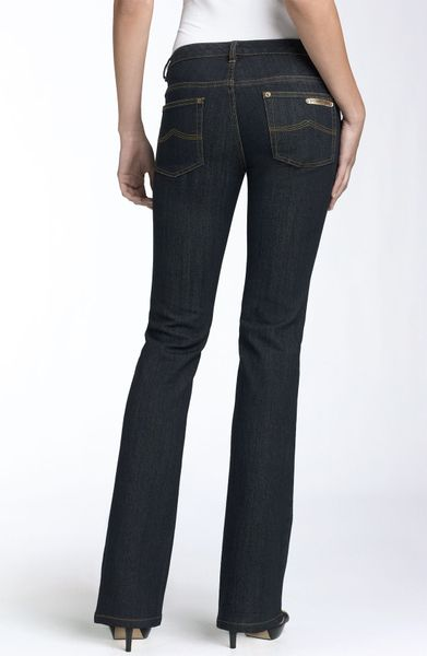 michael michael kors saulalito bootcut stretch jeans in