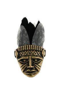 Topman Indian Feather Head Brooch - Lyst