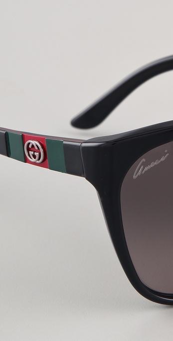 02e362ca99 Oversized Cat Eye Sunglasses Gucci