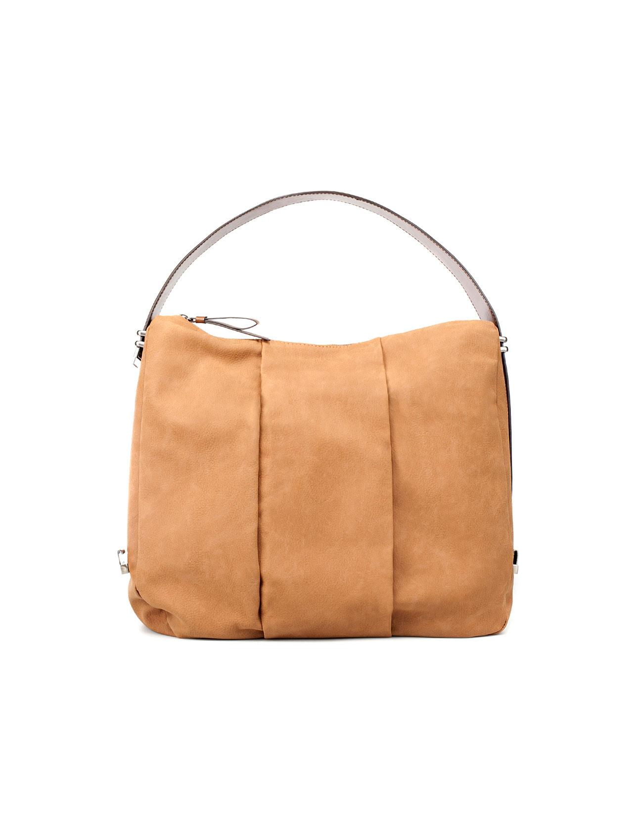 Zara Bucket Bag With Adjustable Handle In Brown Lyst