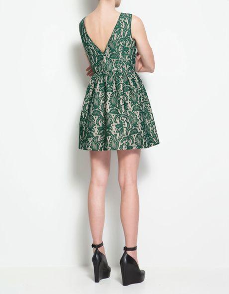 Zara Tulip Dress Zara Lace Tulip Dress in