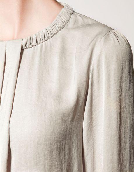 Zara Pleated Blouse 58