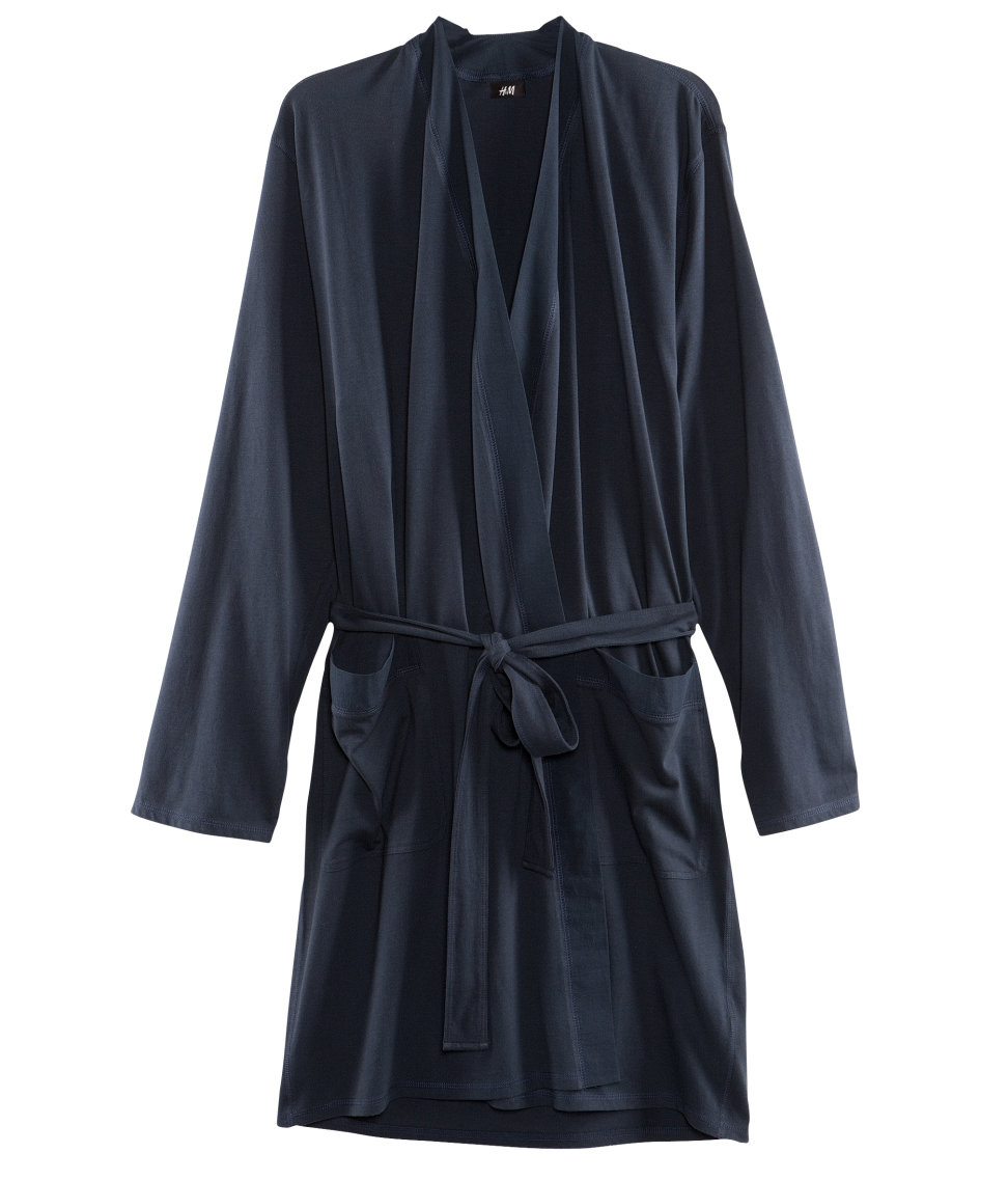 Dressing Gowns - Our men's nightwear range has everything you need for bedtime or lounging, from cotton pyjama sets to slippers and onesies.