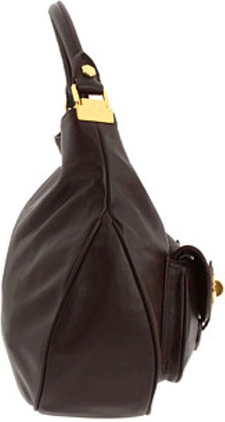 Marc Jacobs Hobo Laukku : Marc by jacobs house of hobo in brown e lyst