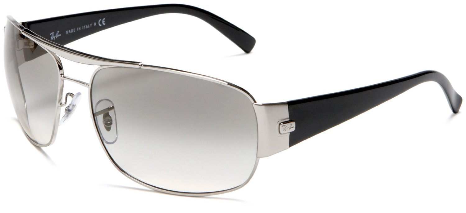 Ray-ban Ray-ban Mens Aviator Sunglasses in Silver for Men ...