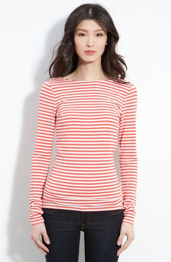 Trouvé Nautica Stripe U-back Top - Lyst