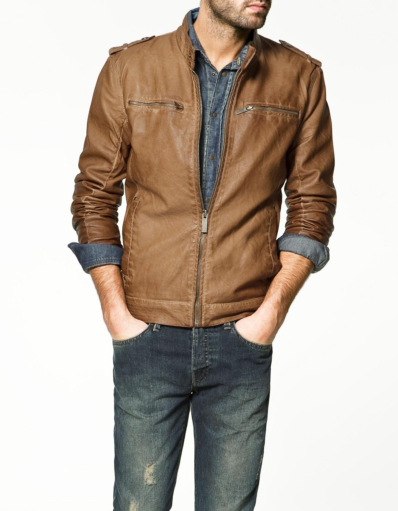 Leather Jackets Zara Men Priletai Com