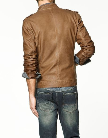 a2707696 Leather jacket zara » Clothing stores online