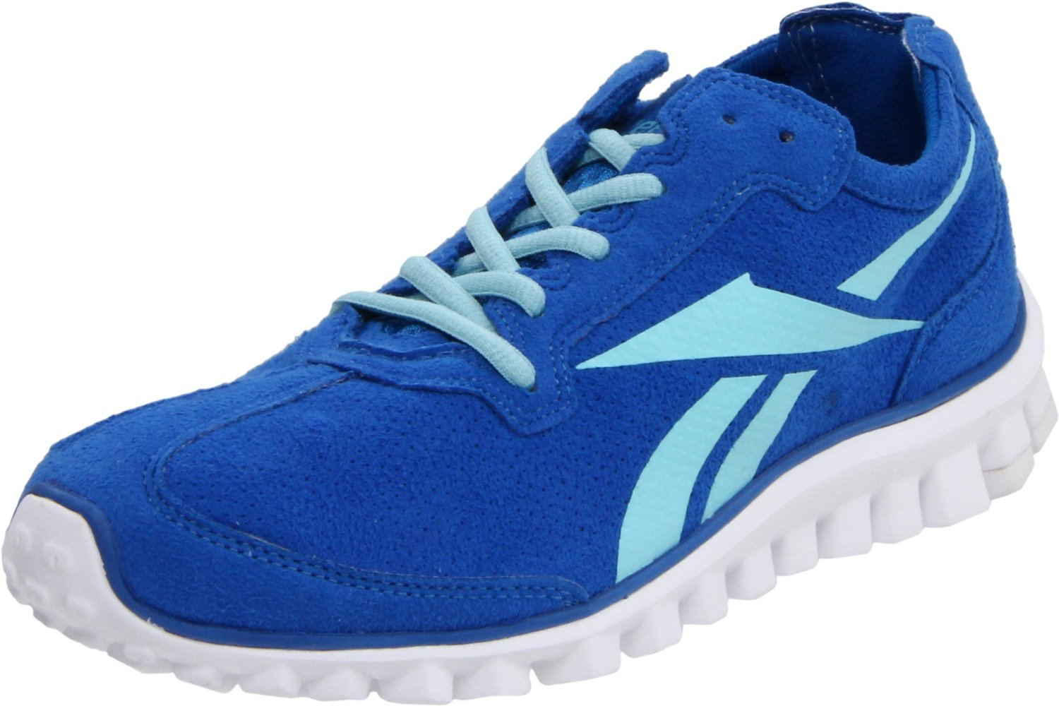 reebok reebok womens realflex run running shoe in blue